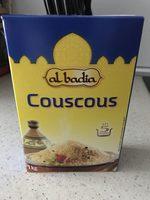 Couscous Extra Fin Al Badia 1 KG, 1 Paquet - Producto - es