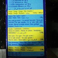 Couscous Extra Fin Al Badia 1 KG, 1 Paquet - Información nutricional - es