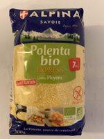 Polenta Bio Express Moyenne - 製品 - fr
