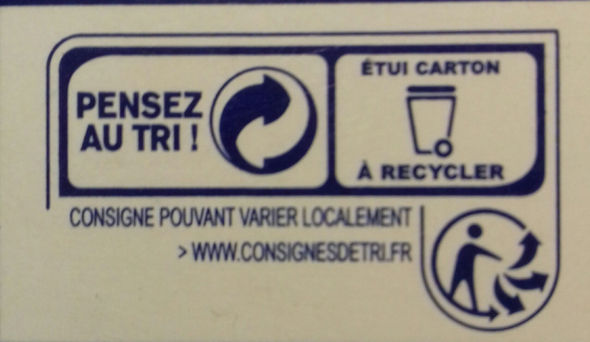 Bio Farfalle - Instruction de recyclage et/ou informations d'emballage - fr