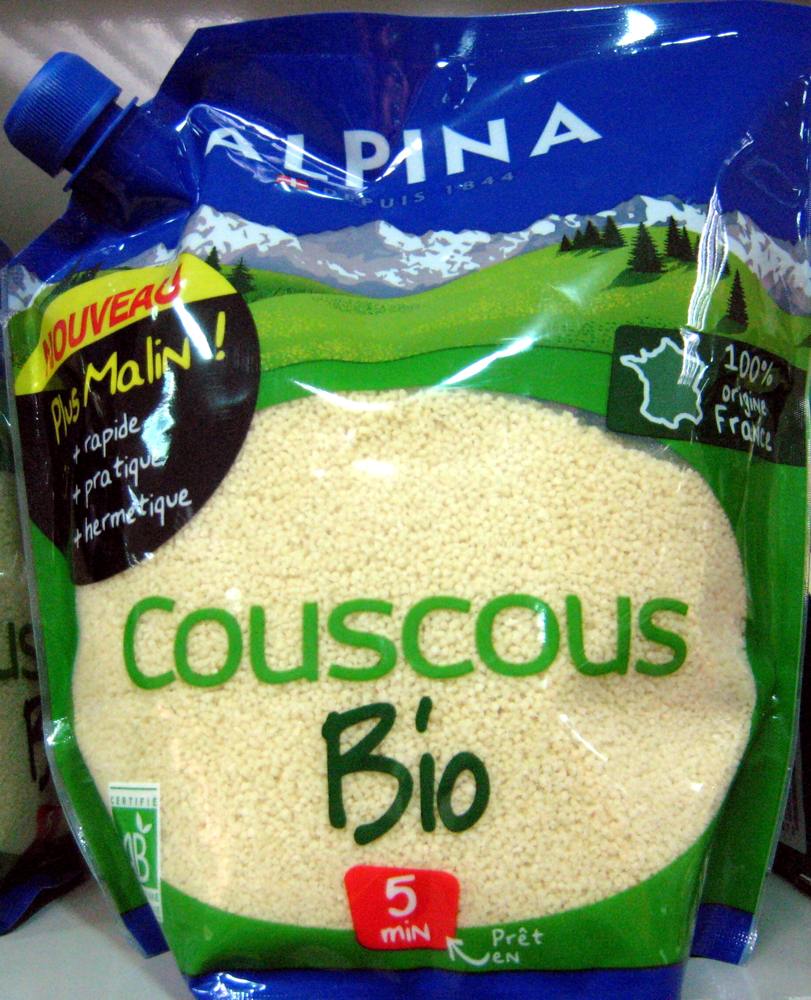 Couscous Bio - Produit - fr