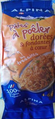 """""""Pâtes"""" à poêler, les tressines - Produit - fr"""