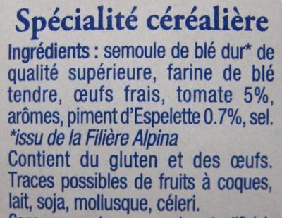 Les Crozets, Tomate / Piment d'Espelette - 2
