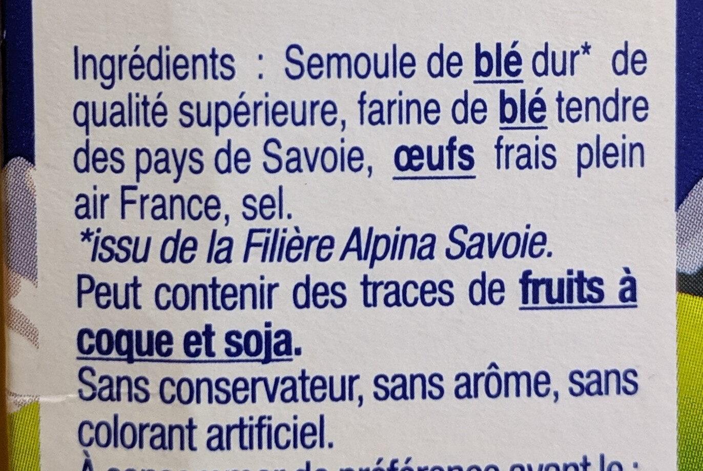 Crozets nature - Ingredients - fr