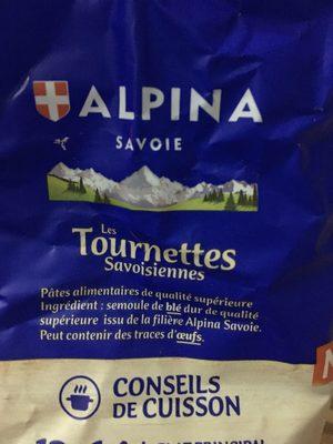 Tournettes savoisiennes - 原材料 - fr