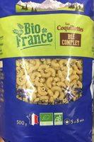Les Coquillettes Blé Complet - Produit - fr