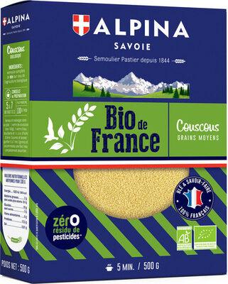 Coucous Blanc Bio de France - Produit - fr