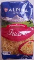 Pâtes de Savoie, Frisettes - Produit