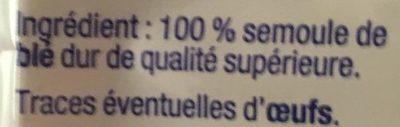 Belledonnes - Ingrédients - fr