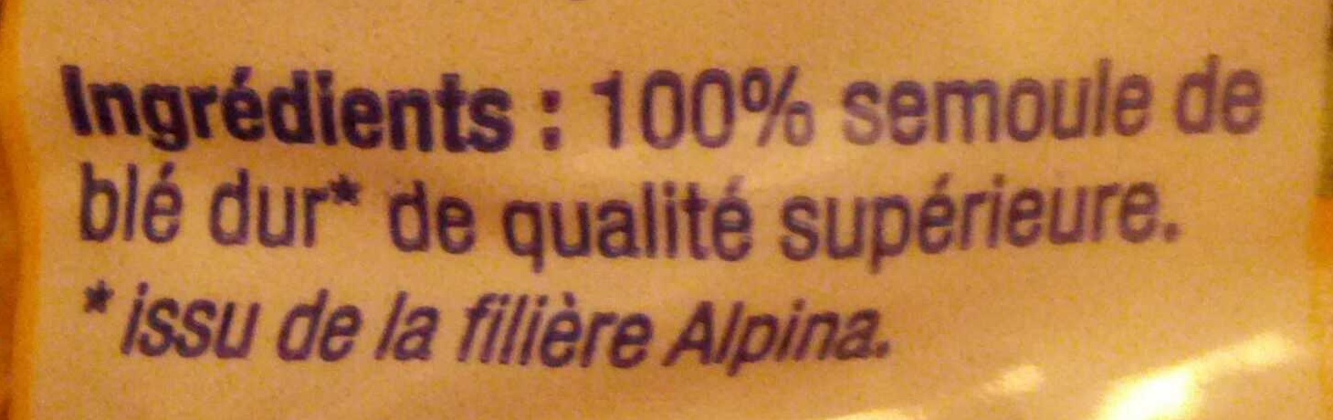 Épinettes - Ingrédients - fr