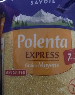 Polenta Express Grains Moyens - Informazioni nutrizionali - fr