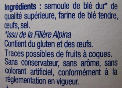 Les Crozets, Nature - Ingredients
