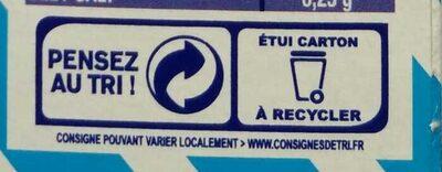 Les Crozets, Nature - Instruction de recyclage et/ou information d'emballage - fr