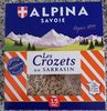 Crozets au Sarrasin - Produit
