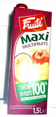Maxi multifruits - Product