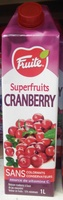 Superfruits Cranberry - Product