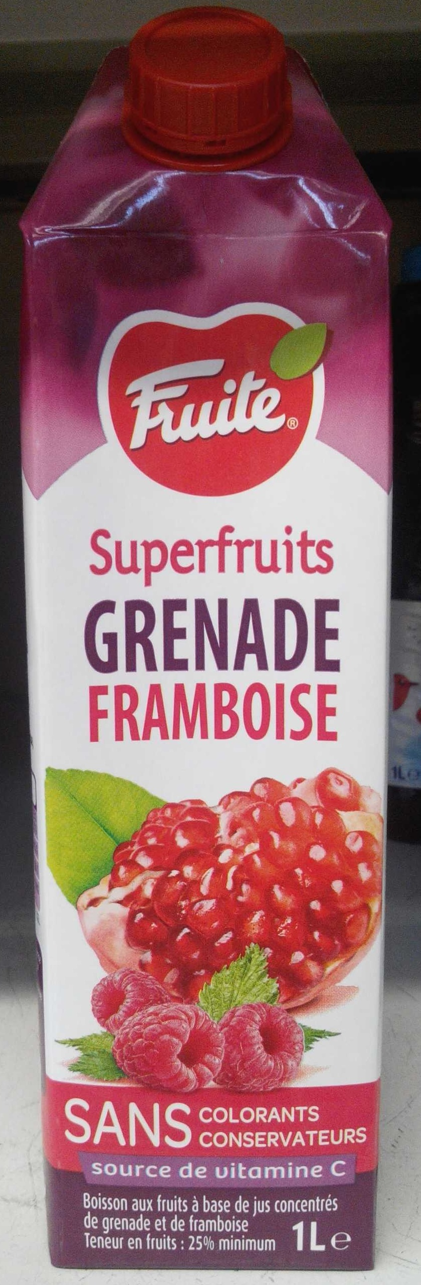 Superfruits Grenade Framboise - Product