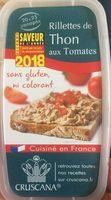 Rillettes de Thon aux Tomates - Product