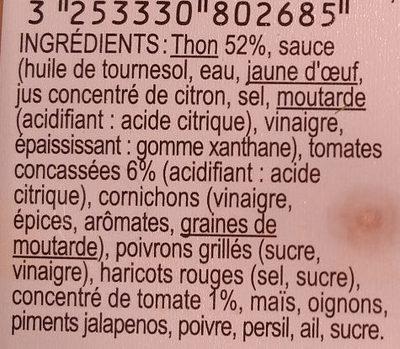 Rillettes de Thon aux Tomates - Ingredients