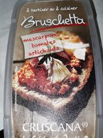 Bruschetta mascarpone tomates artichauts - Prodotto - fr