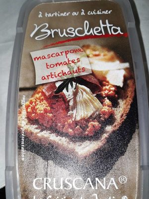 Bruschetta mascarpone tomates artichauts - Product