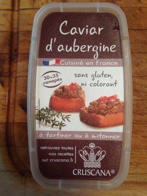 Caviar d'aubergine - Produit
