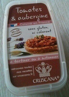 Tomates & aubergine - Produit - fr