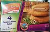 4 Cordons bleus halal - Surgelée - Product