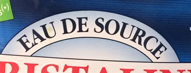 Cristaline Eau de source - Ingrédients - fr