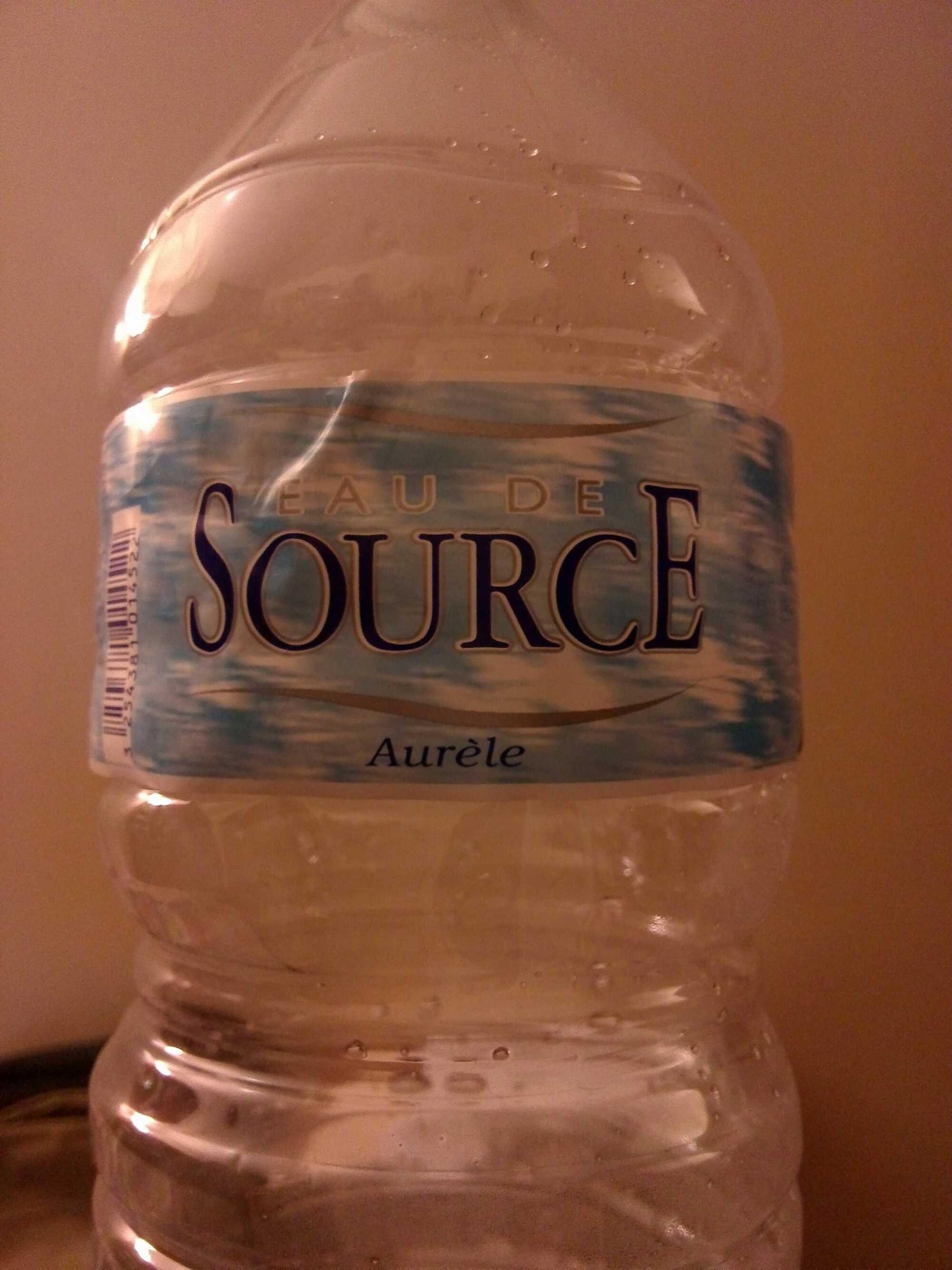 Eau de source - Product