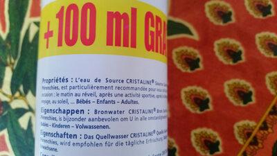 cristaline - Ingredients