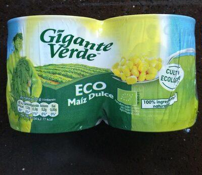 Eco maíz dulce