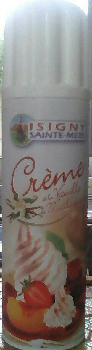 Crème à la vanille de madagascar - Produit - fr
