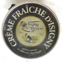 Crème d'Isigny AOP 35% - Ingrédients - fr