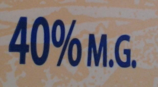 Crème d'Isigny pv 20cl - Voedingswaarden - fr
