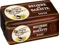BEURRE DE BARATTE DX 250 G - Produit - fr