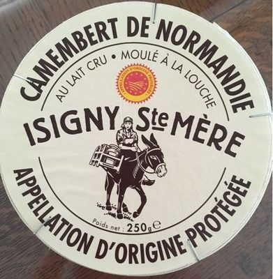 Camembert de Normandie au lait cru - Product - fr