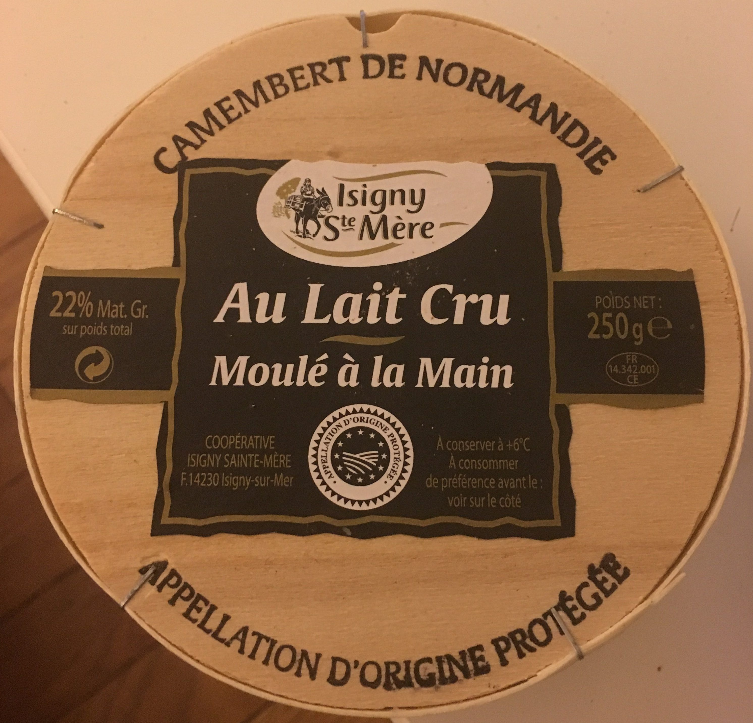 Camembert de Normandie (22% MG) - Product