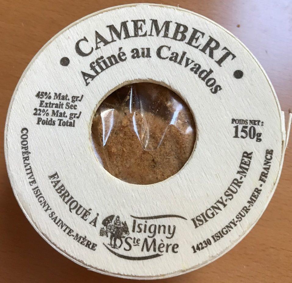 Camembert affiné au Calvados (22% MG) - Product - fr