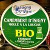 Camembert d'Isigny moulé à la louche Bio (22% MG) - Produit