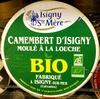 Camembert d'Isigny moulé à la louche Bio (22% MG) - Product