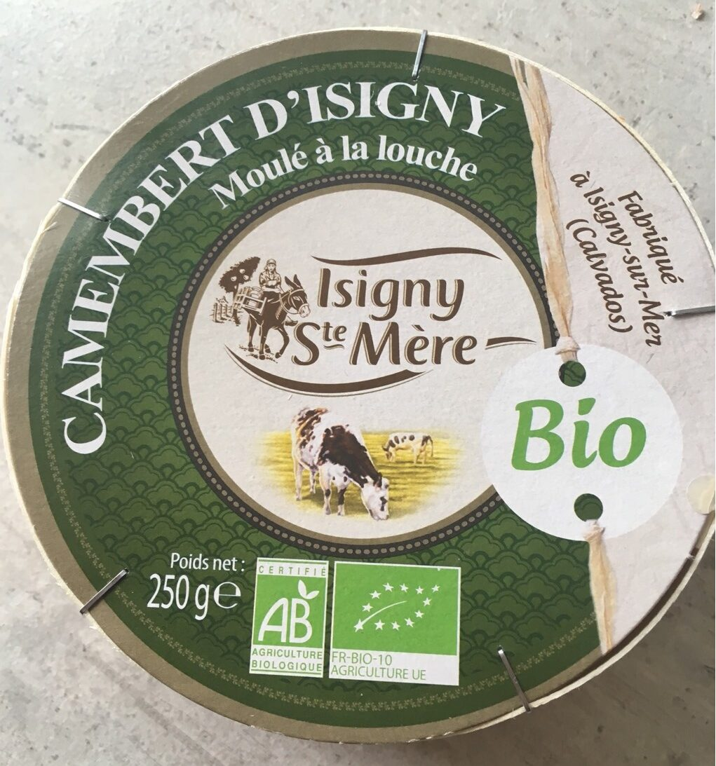 Camembert d'Isigny - Produit - fr