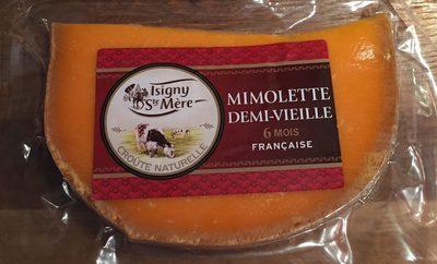 Mimolette Demie Vieille Au Lait Pasteurisé, 27%MG - Producte - fr
