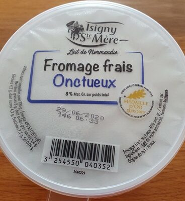 Fromage frais onctueux - Product - fr