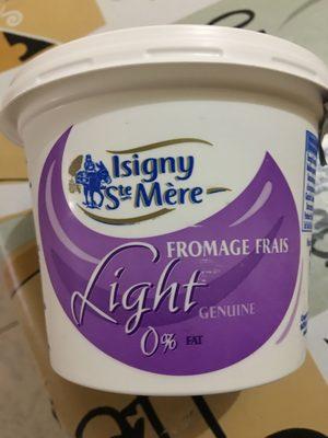 Fromage frais allégé 0% - Product