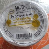 Fromage frais aux mirabelles - Produit - fr
