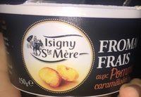 Fromages Frais aux Pommes Caramélisées - Produit - fr