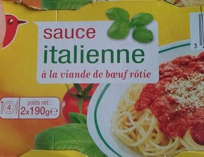 Sauce italienne à la viande de boeuf rôtie - Produit - fr