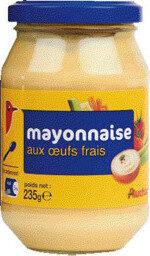 Mayonnaise aux oeufs frais - Prodotto - fr
