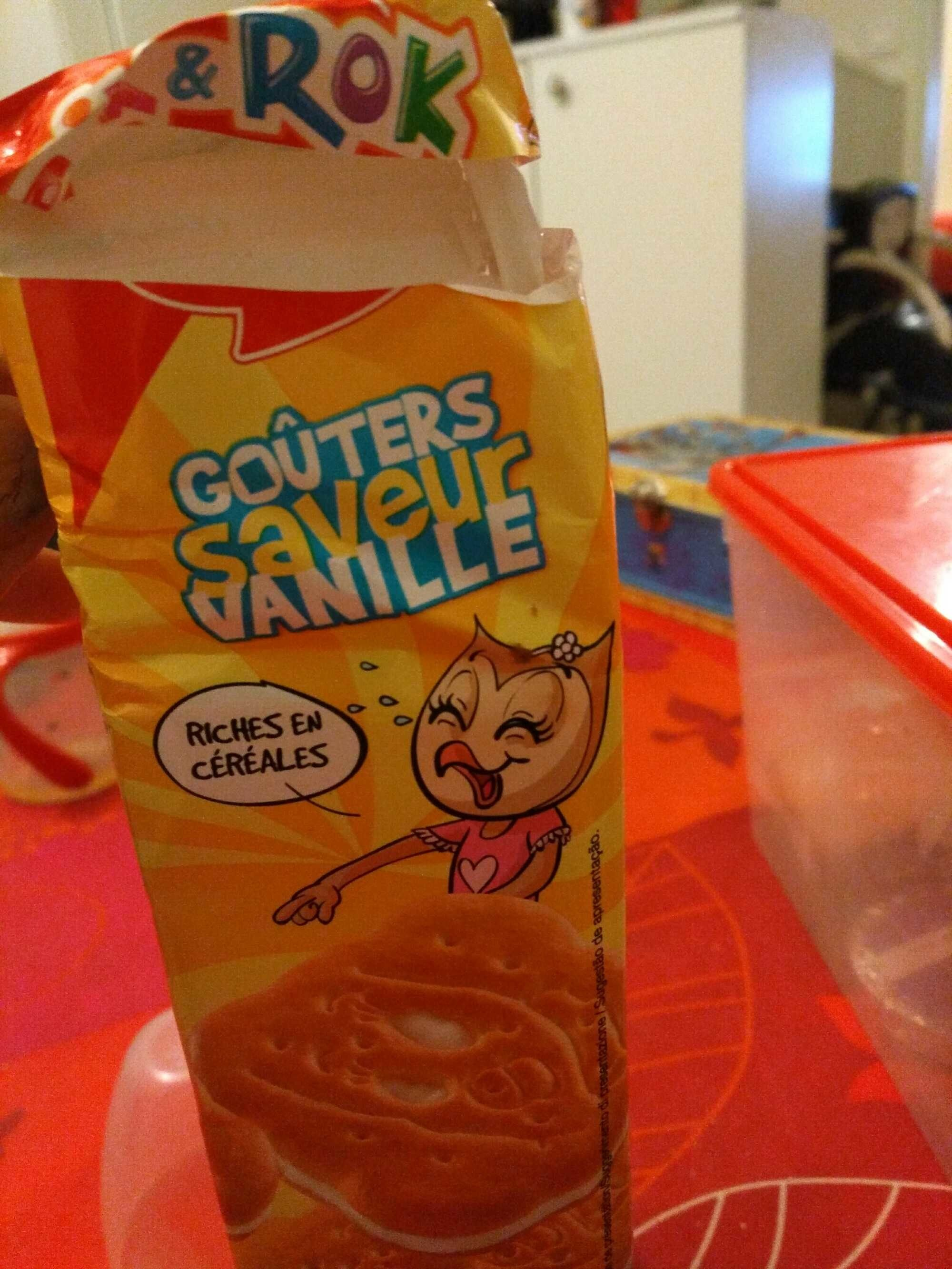 Goûters saveur vanille - Product